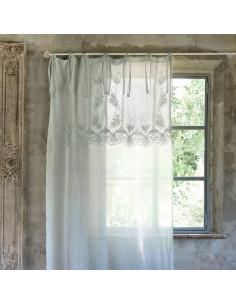 Cuscino con gale in cotone Villa Cortese