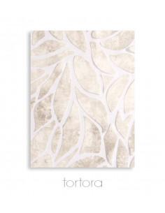 Completo lenzuola in raso di puro cotone Cornici