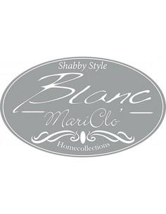 Tenda bianca in lino e cotone Eleanor