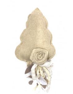 Tenda beige in lino e cotone  Vivienne