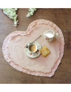 Set/3 decori cuore Petit Fleur