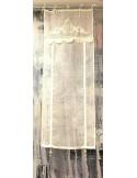 Cestino in paglia con 4 lavette in cotone Dolce Vita