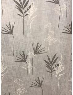 Cuscino in cotone stampa jacobean Denim in Marrakech