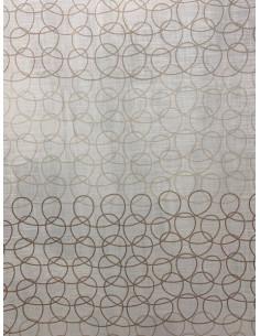 Tovaglia beige in cotone Ballade cm. 150x260