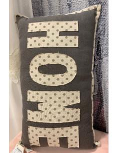Tenda pannello con fascia copri bastone - naturale DELHI