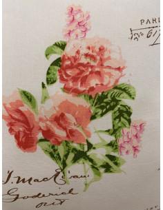 "Blanc Mariclò Centrino/Tovaglietta Ovale Saint Amour Collection"""